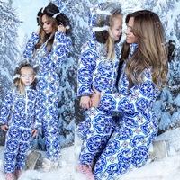 1ec05615dd9 Зимний комбинезон для мамы и дочки Family
