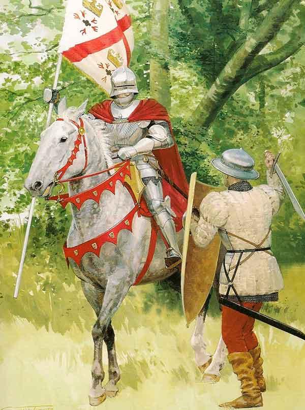 Воины Бургундии