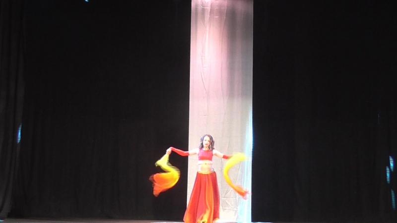 Восточный танец с веерами Нижний Тагил 2018г.