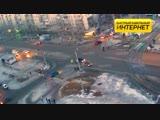 ДТП (авария г. Волжский) пр. Ленина ул. Академика Королева 12-02-2019 18-30