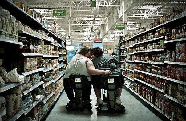 10 бодипозитивных посетителей американских супермаркетов, которые приехали за покупками