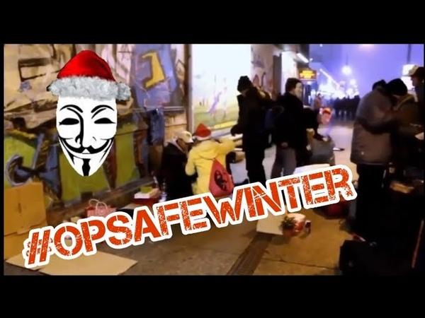 AnonymousOpSafeWinterWir helfen Obdachlosen MACHT DAS IN JEDER STADT LEUTE, STEHT AUF!