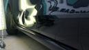Ремонт вмятины VW Polo технология PDR