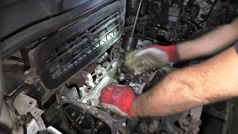 Renault Trafic Снятие ГБЦ дефектовка часть 2 Removing the cylinder head troubleshooting part 2