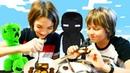 Майнкрафт рецепт завтрака - Яичница для Эндермена! - Видео для детей.
