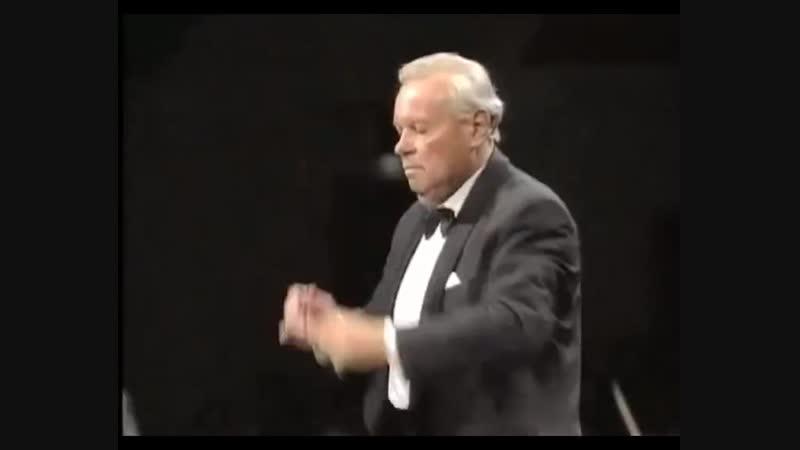 П И Чайковский ор 31 Славянский марш Светланов и японский симфонический оркестр NHK