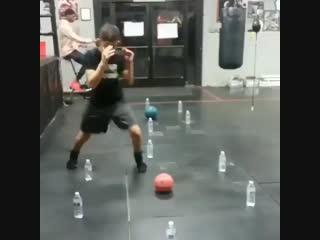 Тренировка ног у боксёров