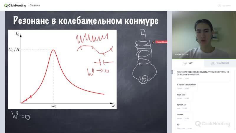 RLC - контур, полное сопротивление при переменном токе