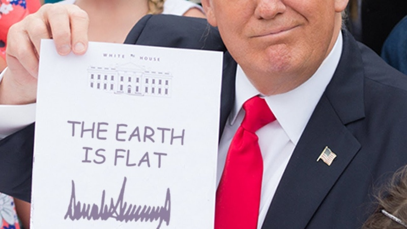 AUTHENTIC PROOF! DONALD TRUMP SAY THAT NASA IS FRAUD
