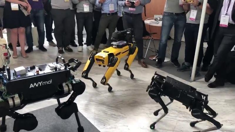 IROS 2018 ANYbotics Unitree and Boston Dynamics