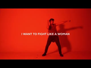 Ryan amador & one billion rising - like a woman (lyric video)