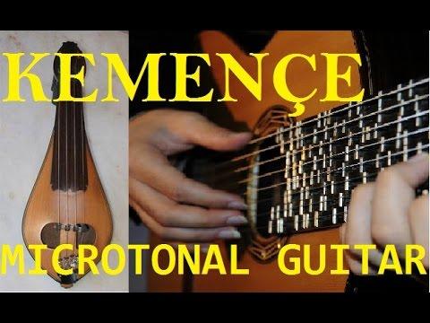 Tolga Zafer Özdemir - Microtonal Guitar Kemençe - Hero ve Leandros