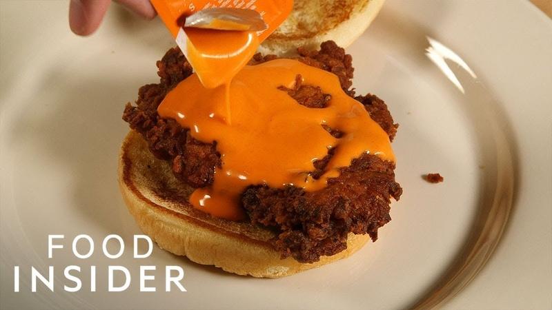 Chick Fil A's Secret Menu Buffalo Spicy Chicken Sandwich Fast Food Secret Menus