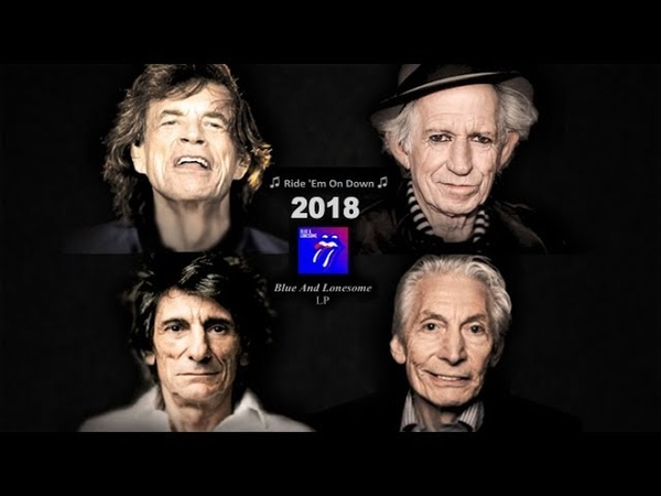 The Rolling Stones Aging Year by Year 1962-2018 (3D Art Collage)