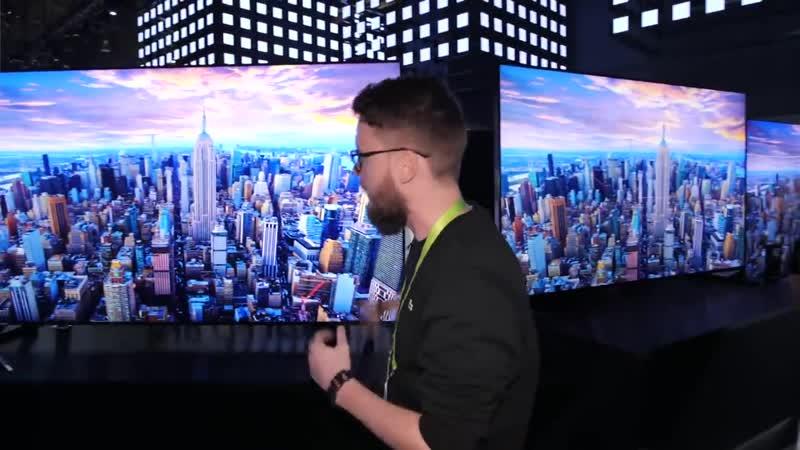 Видео Телевизоры будущего в 8K Ntktdbpjhs eleotuj d 8K