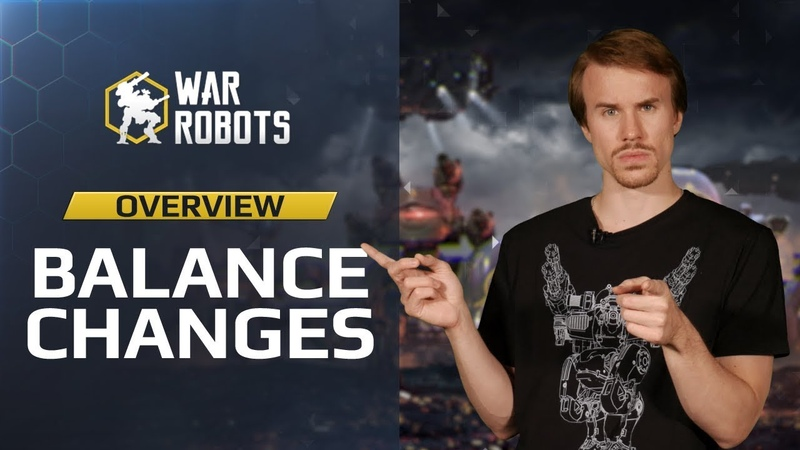 Balance Overhaul 4.3: changes to Falcon, Spectre, Shocktrain and more | War Robots