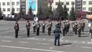 Дефиле военного оркестра 147 АБМО 09 05 2015