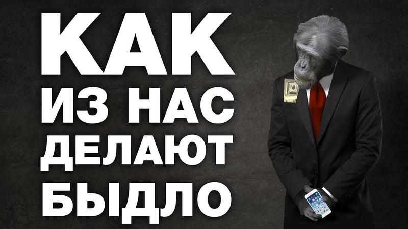 ОНИ ДЕРЖАТ тебя ЗА ПРИЧИННОЕ МЕСТО. Вся правда о МАСС МЕДИА в России