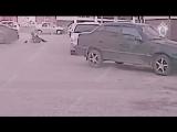 В Сыктывкаре пьяный 18-летний водитель без документов протащил по двору сотрудника ДПС.