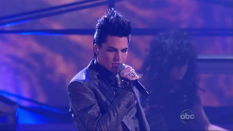 Adam Lambert - For Your Entertainment (American Music Awards 2009 Live (Uncensored)