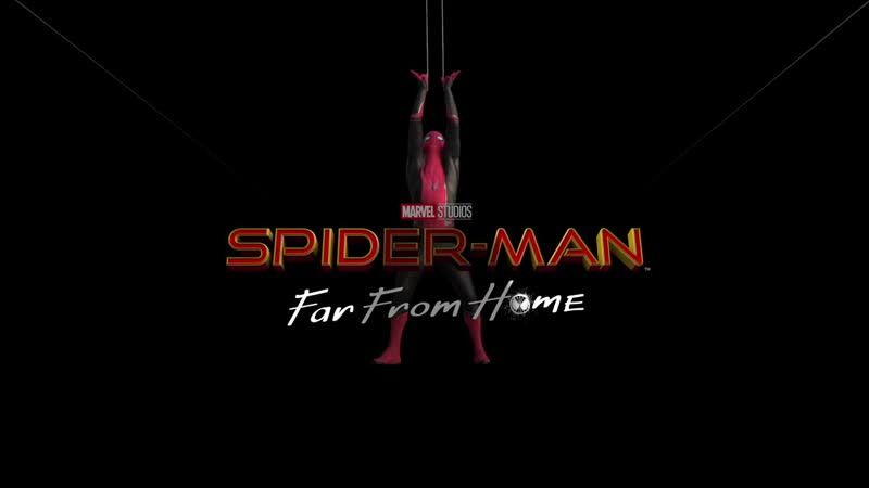 SPIDER-MAN Far From Home Spider-Man Catches a Plane
