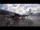 FLIGHT REPORT _ MOTOR SICH ANTONOV 24 _ KIEV - LVIV