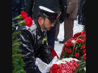 Минута молчания в память о погибших