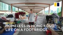 Extreme poverty in Hong Kong homeless life on a footbridge English subtitles