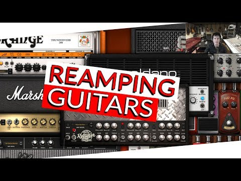 Reamping Guitars with AmpliTube - Warren Huart Produce Like A Pro