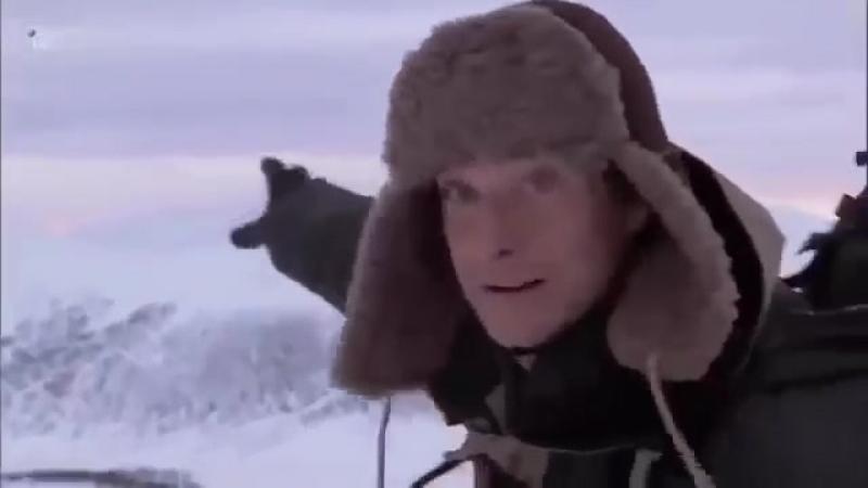 выжить любой ценой Беар Гриллс Сибирские морозы 2 часть 0001 Joined