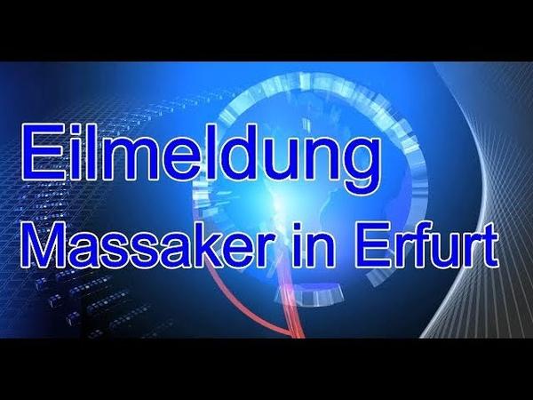 Tim K . TV Eilmeldung Massaker in Erfurt Hände abgetrennt