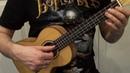 Jingle Bells урок на укулеле куплет простой вариант