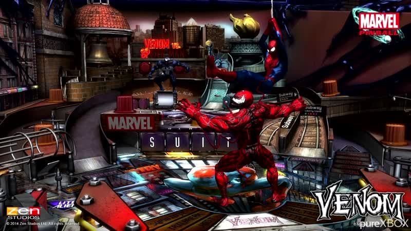 Pinball FX3 - Venom Table - Carnage Voice Lines