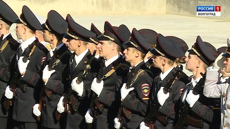 Специальный репортаж Присяга в Волгоградской академии МВД Выпуск 17 10 18