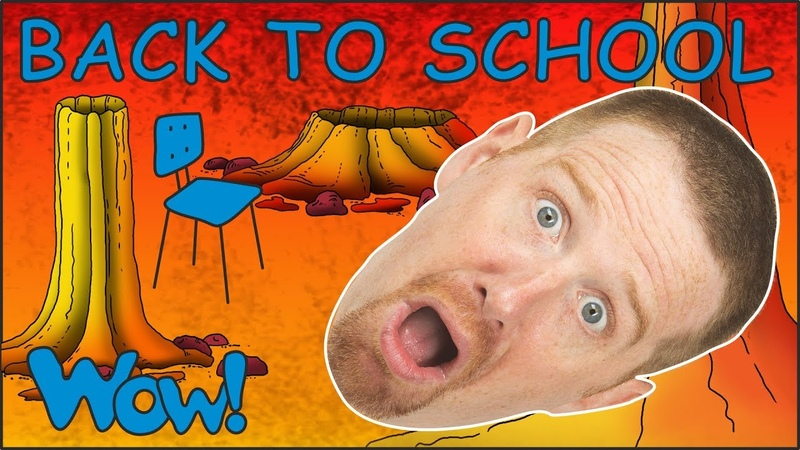Back to School Story from Steve and Maggie with Bobby Free Speaking Wow English TV