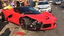 Ferrari LaFerrari Crash Budapest 6,3l 12V (708 kW 950 bhp)