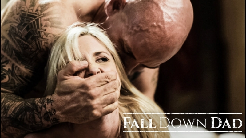 Pure Taboo FALL DOWN DAD , Piper Dad, Family Roleplay, Tiny Teen, Surprise creampie, Step