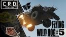 Crossout: [ Tusk Harvester ] FLYING WILD HOG 5 [ver. 0.9.60]