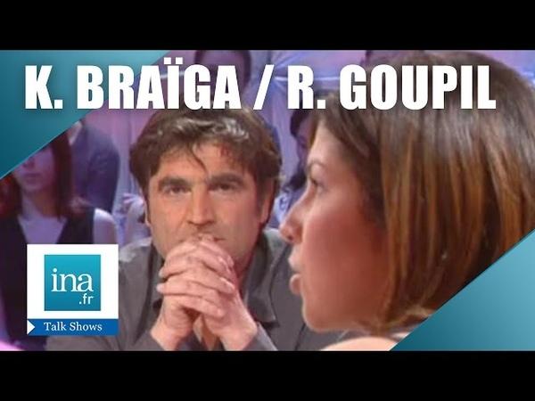 Kenza Braiga face à Romain Goupil La guerre en Irak   Archive INA