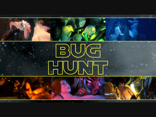 Bughunt (dead or alive, metroid, alien sex)
