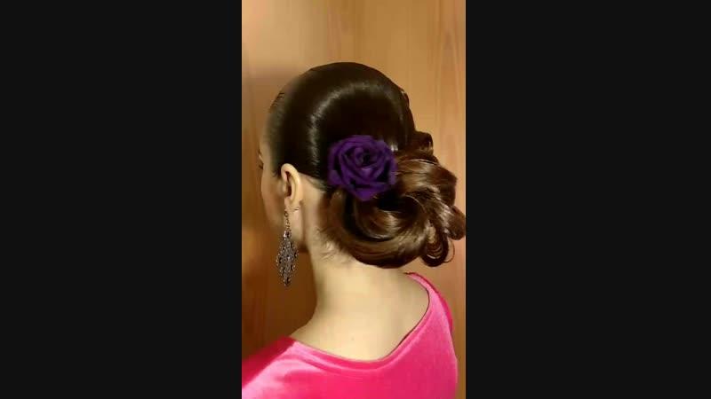 прическа макияж для бальных танцев невест выпускных вечеров стилист Алия Гайсина