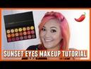 Sunset Eyes Makeup Tutorial ft Karity Picante Palette