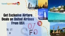 Get Exclusive Airfare Deals on United Airlines From USA