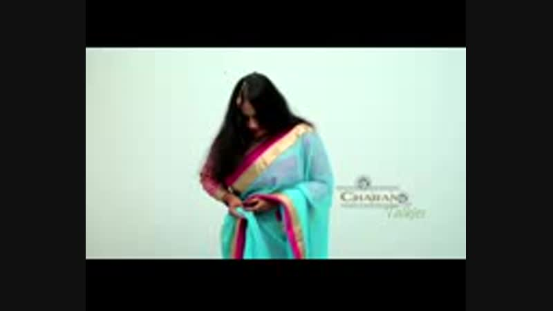 How to wear a designer Silk Saree quickly How