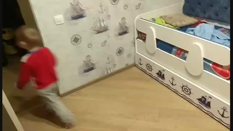 первое видео кровать Тахта