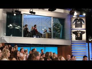Ellen gets interrupted by the tig notaro skybox show