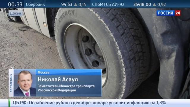Новости на Россия 24 • Переговоры по возобновлению польского транзита закончились безрезультатно
