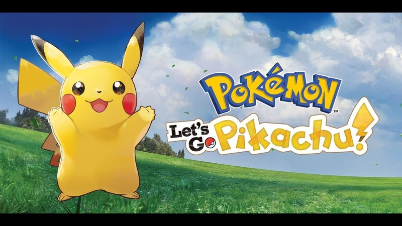 Pokemon: Let's go, Pikachu! День 1. Часть 2