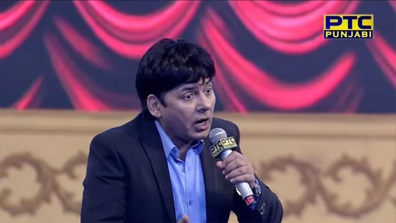 Comedy King Sudesh Lehri LIVE Performance at PTC Punjabi Music Awards 2018 (519)