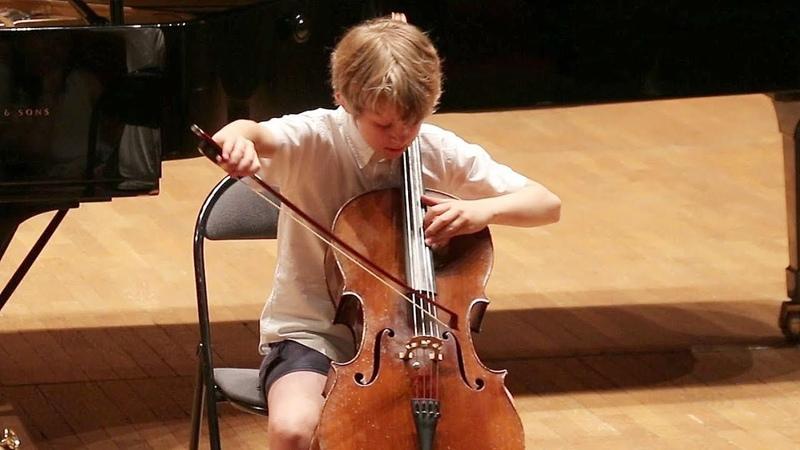 FAURÉ Après un rêve - Maxime GRIZARD - 1er prix de violoncelle 10-13 ans FLAME (et Prodige 2017)